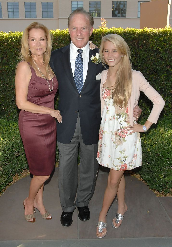 kathie lee and frank gifford and their daughter cassidy