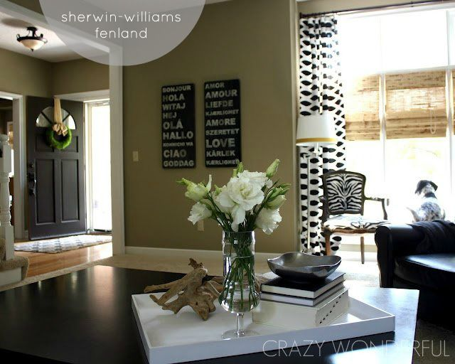 Sherwin Williams Fenland Home Paint Pinterest