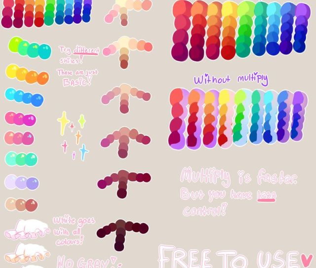 Tutorial Free To Use Palette By Yamio On Deviantart