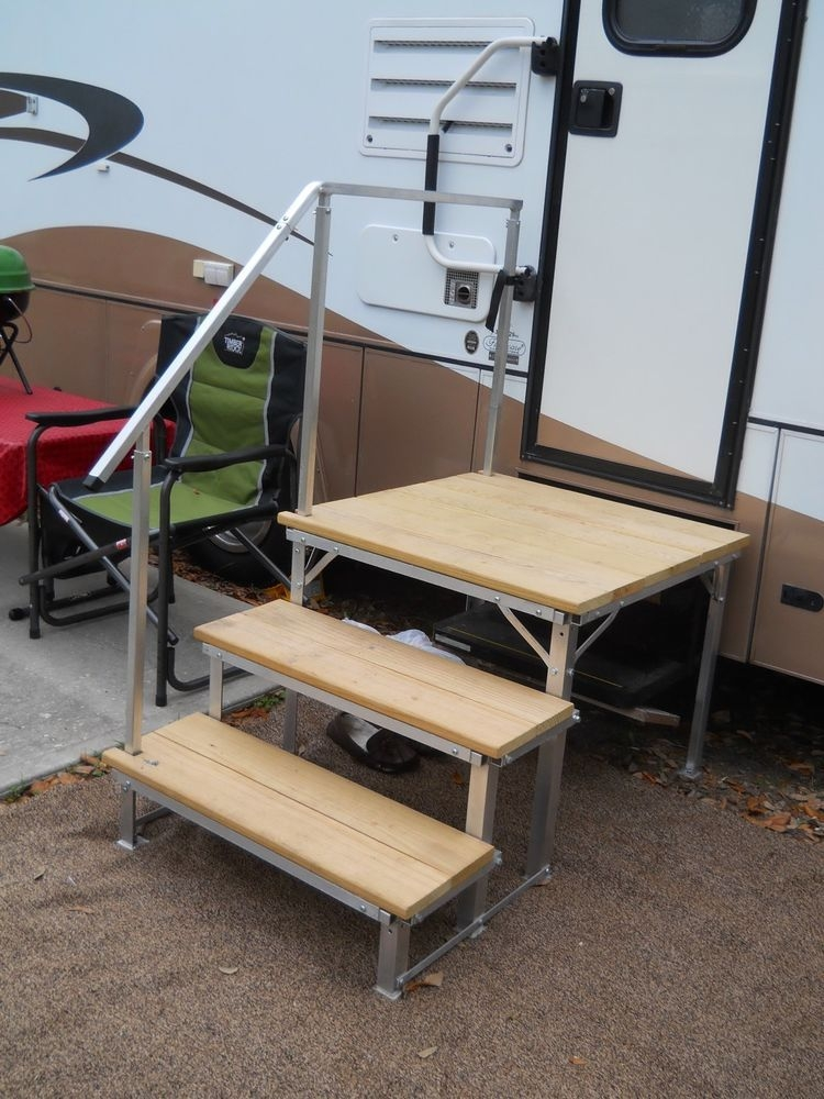 Us 489 85 New In Ebay Motors Parts Accessories Rv | Portable Stairs With Railing
