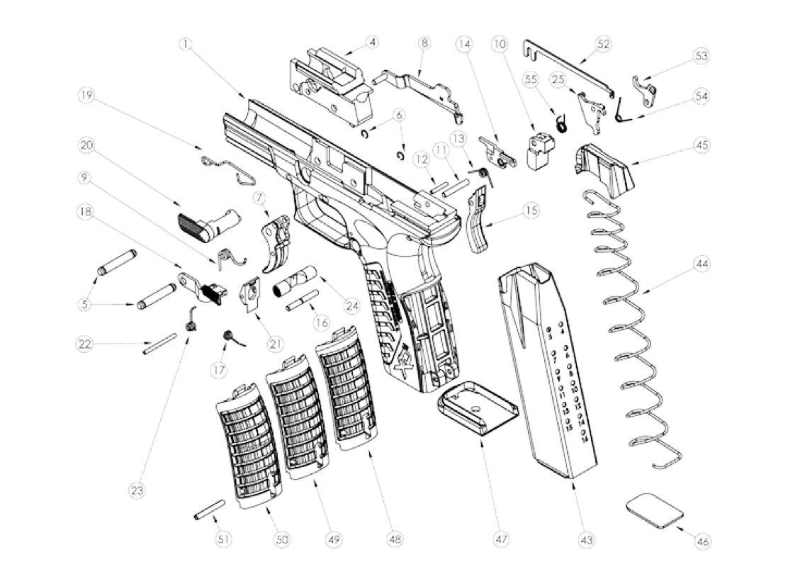 M Amp P 40 Diagram