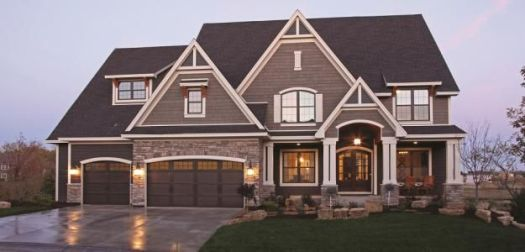 New Home Exterior Color Schemes Two Tone Exteriors Parade Of Homes