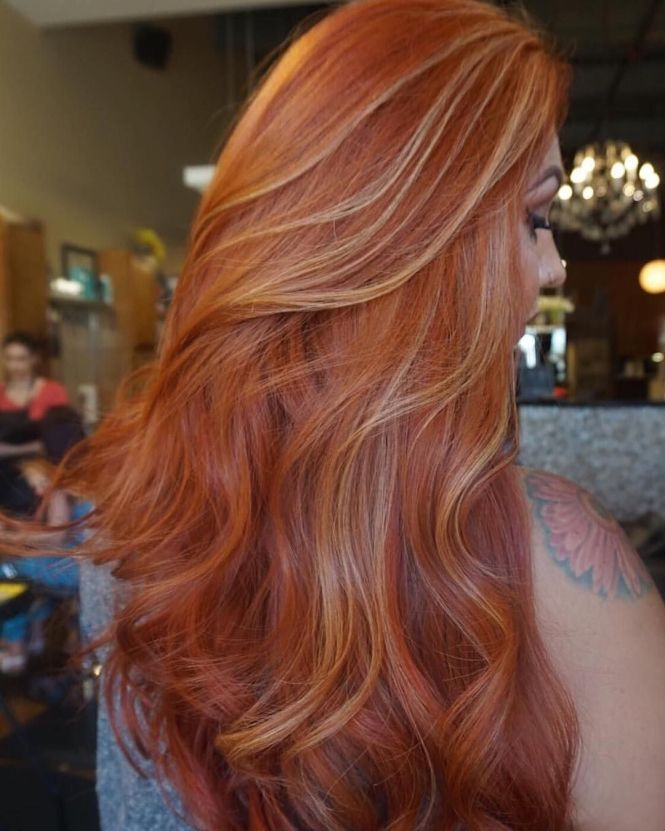 Blonde hair with light red highlights the best blonde hair 2017 best 25 copper blonde hair ideas on light pmusecretfo Choice Image