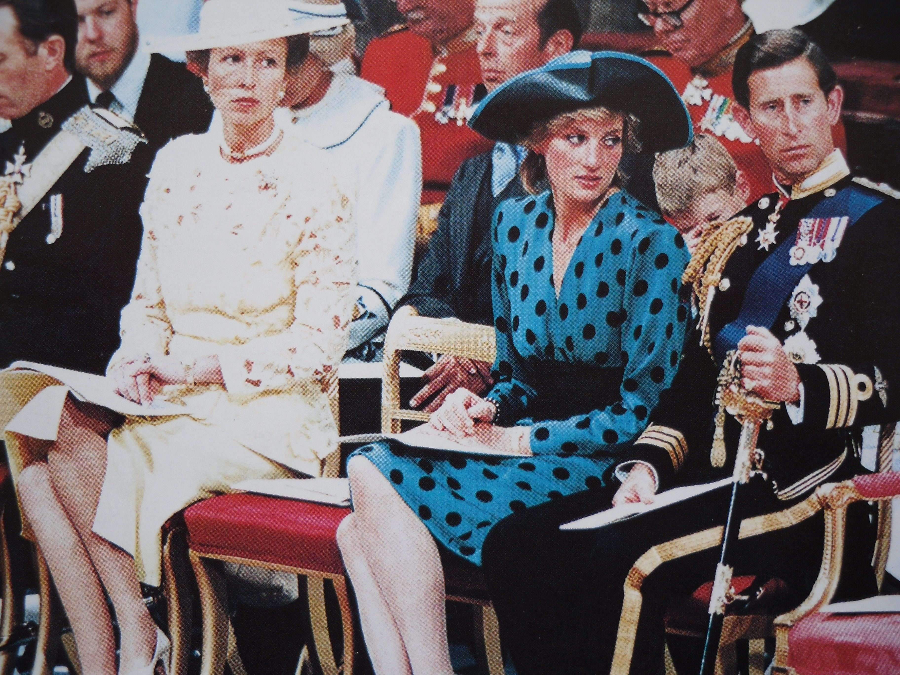 Charles & Diana at Andrew & Fergie's Wedding July 1986