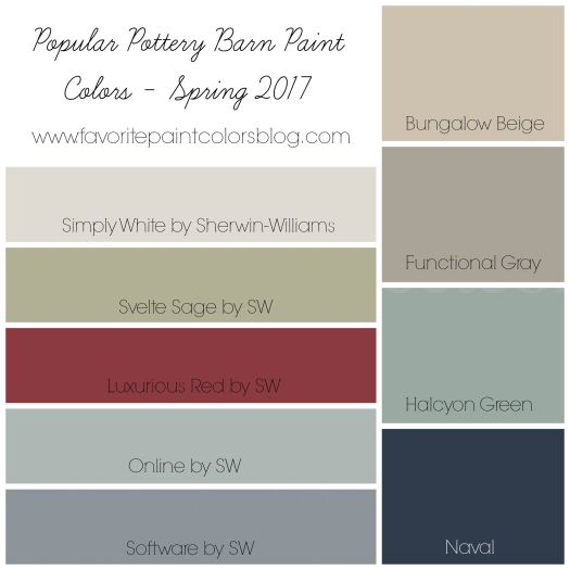 Who Loves Looking At Pottery Barn Catalogs For Inspiration I Know Do And Love The Paint Colors That Are Chosen Each E