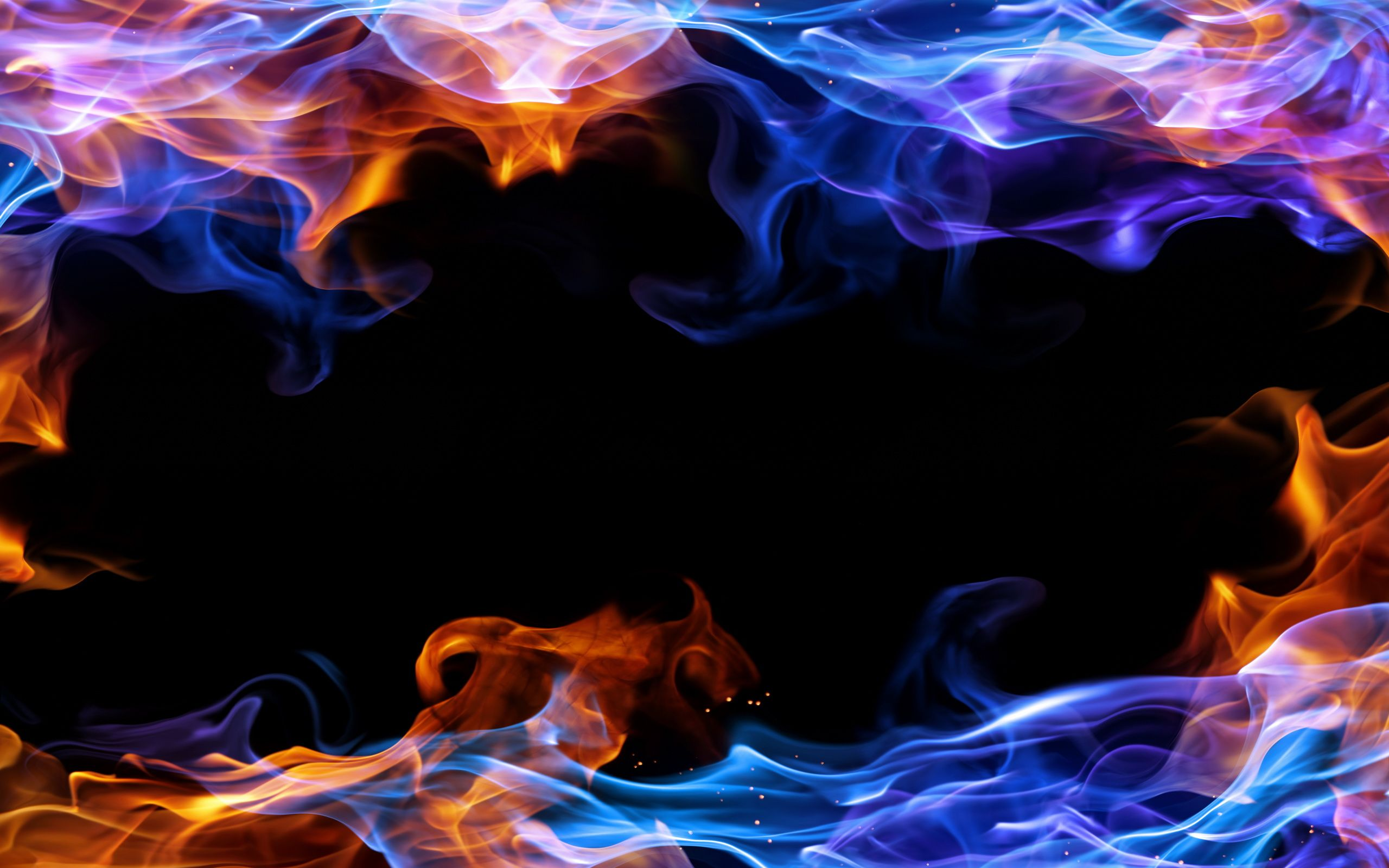 Fire frame background 3131 vector flames Pinterest
