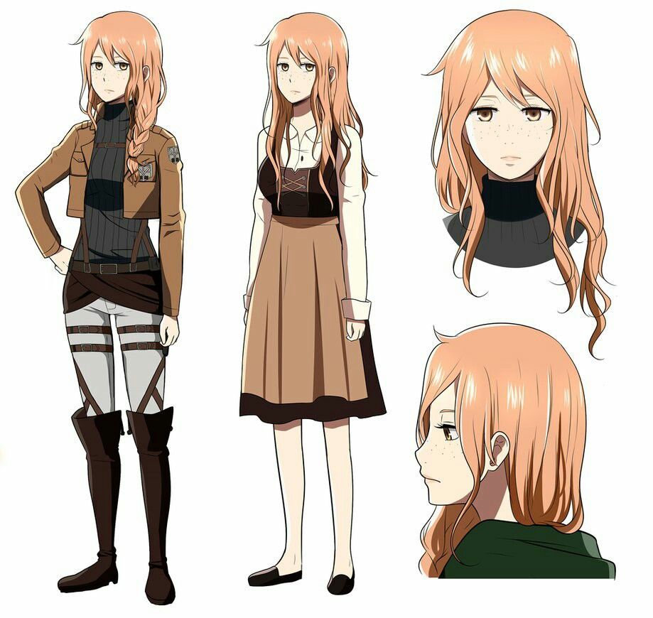 attack on titan oc girl Attack On Titan Pinterest Oc
