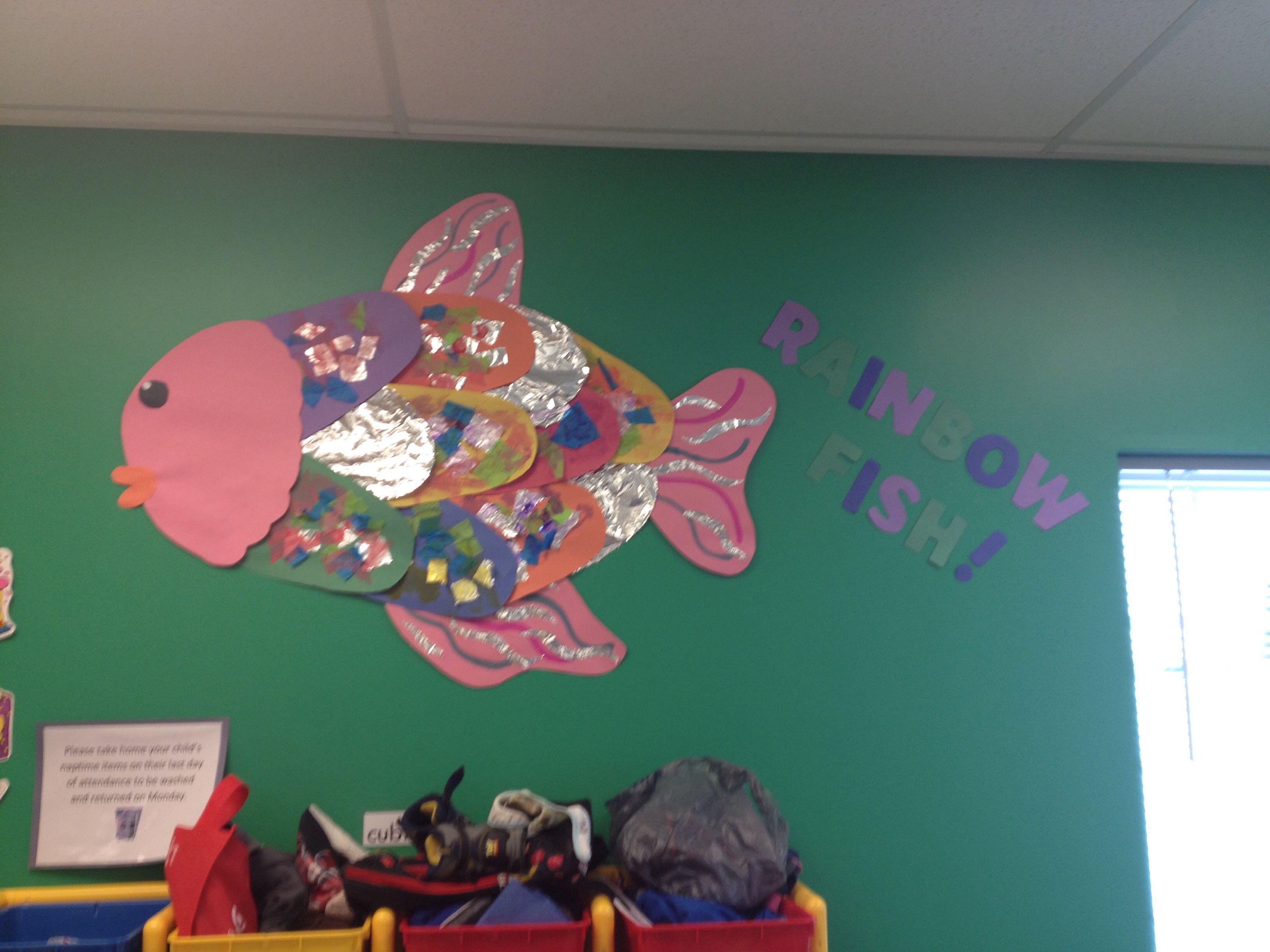 Infant Art Rainbow Fish