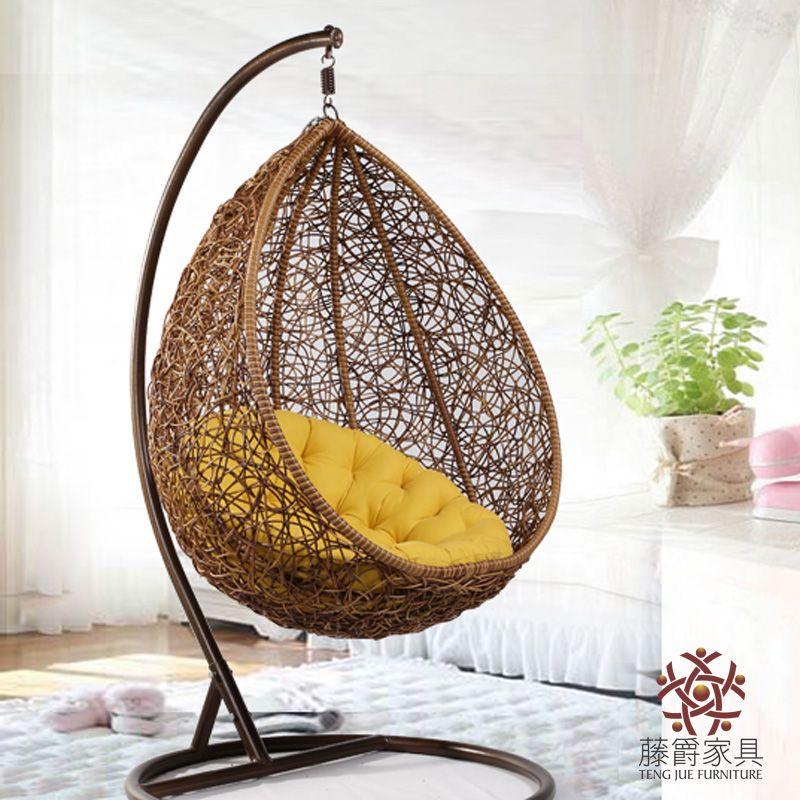 Cane swing chair My living room Pinterest Swing