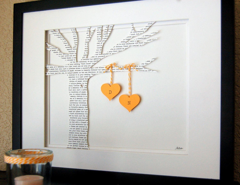 Personalized Wedding Gift, ANNIVERSARY Gift, Initials
