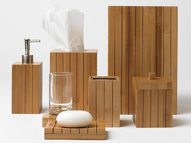 bamboo-bathroom-accessories | home - bamboo bathroom | pinterest