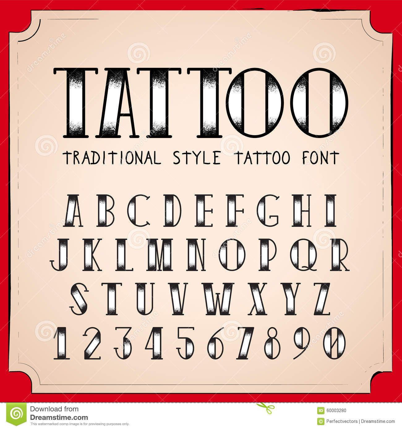 traditional font tattoo Art Pinterest Font tattoo