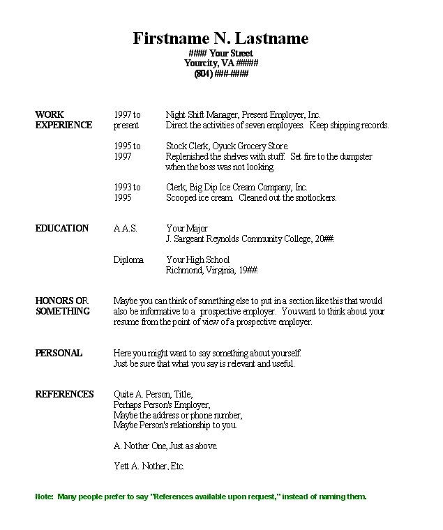 Fill Out A Resume. How To Fill Out A Resume Objective With
