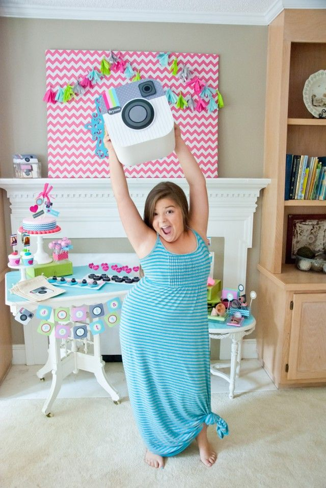 Instagram Party Ideas! Great for Tweens and Teens