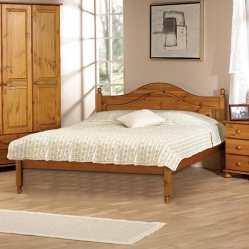 Aarhus Pine 4ft 6 Double Bed Including Free Delivery 109 604 34