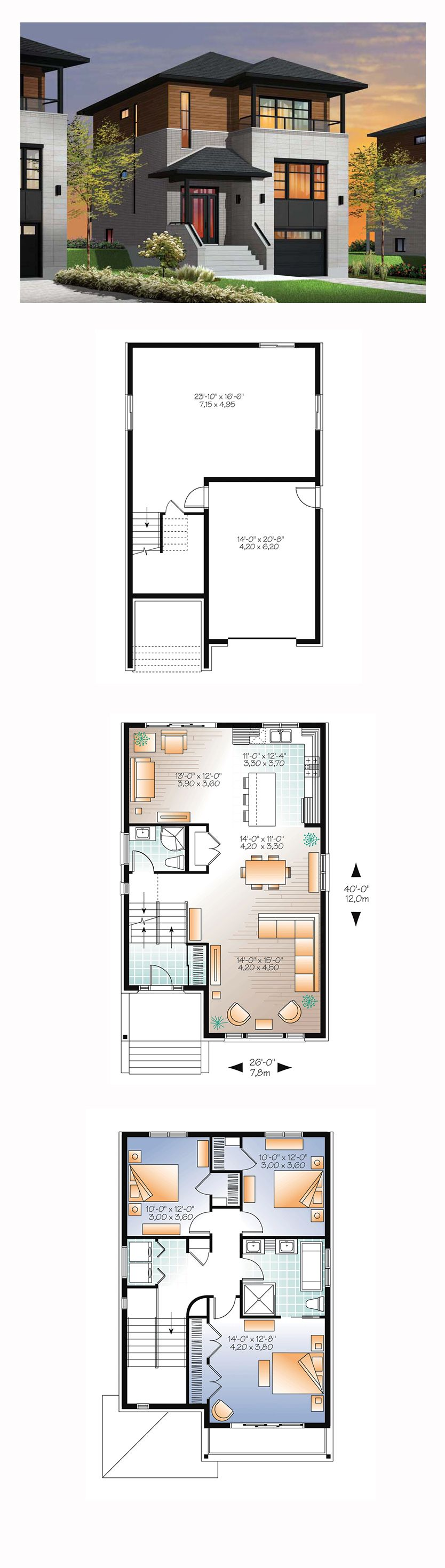 ^ ontemporary House Plans South frica. modern tuscan house plans ...