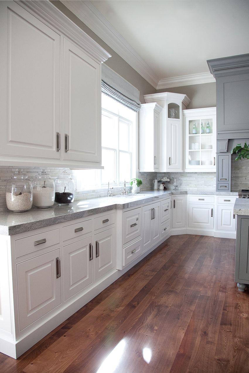 Show N' Tell Cottonwood Craftsman Gray kitchens