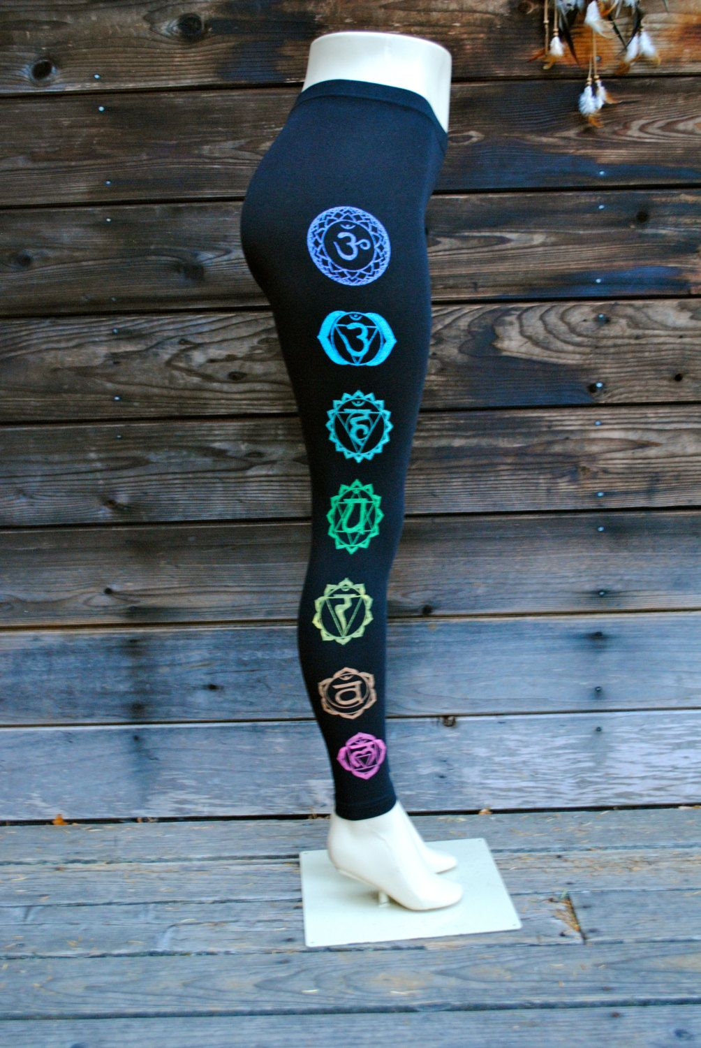Bold CHAKRA Leggings Activewear, For women and Clothing