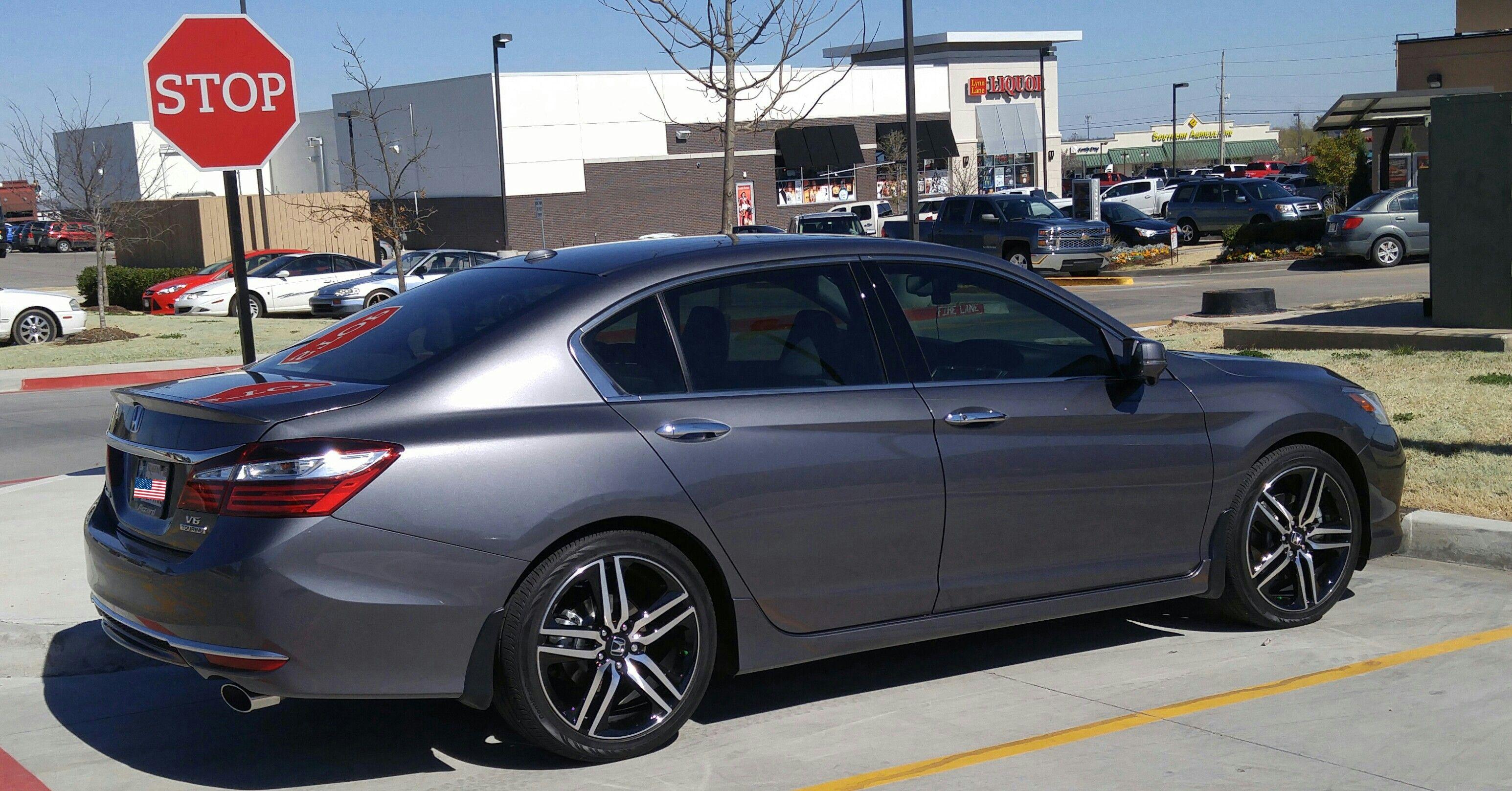 2016 Accord Touring Modern Steel Metallic 2016 Honda