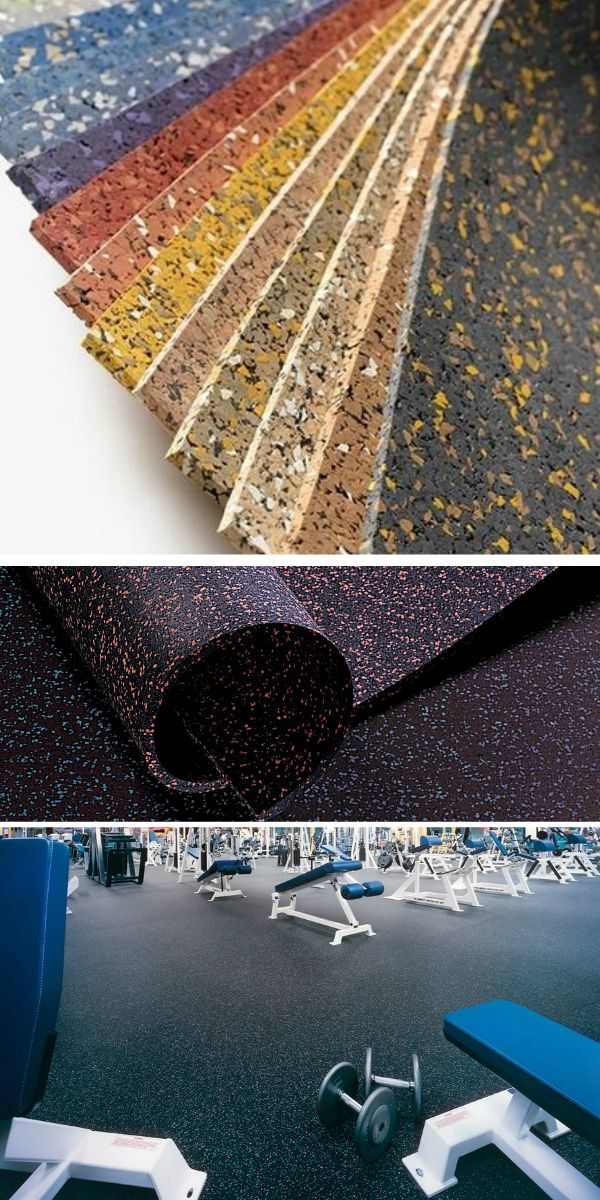 8mm Strong Rubber Tiles Designer Series Home, Flooring