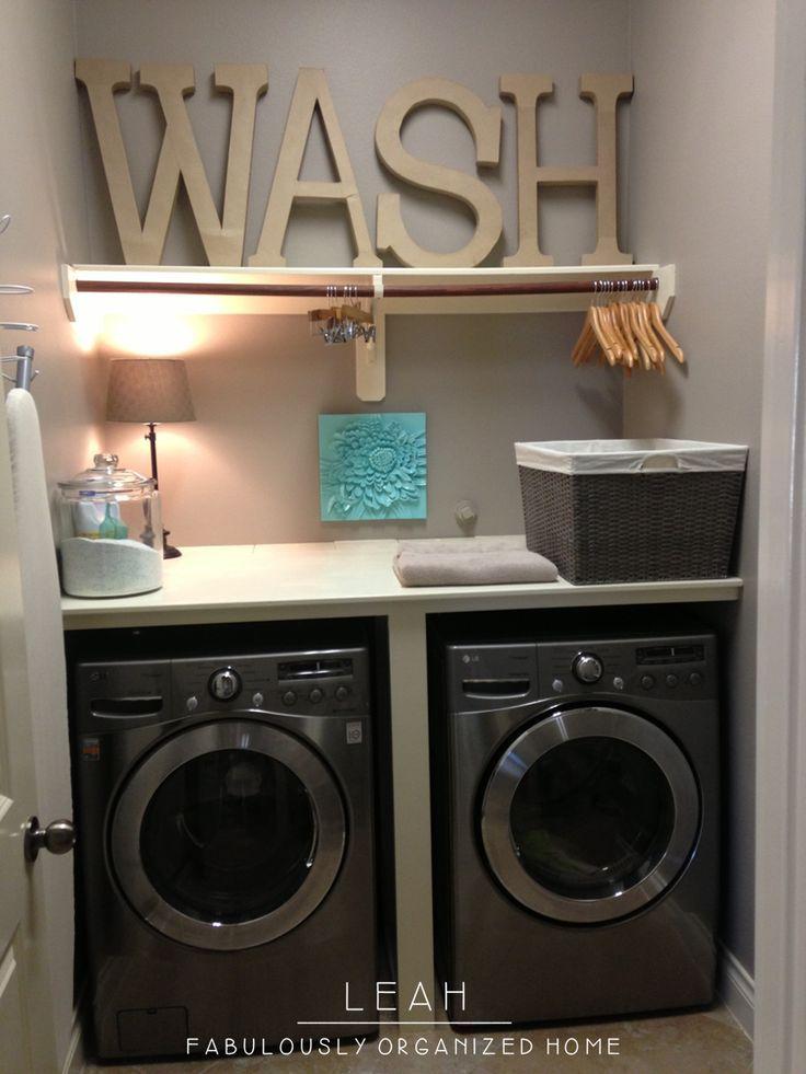 Laundry Room Idea Pinterest. elegant laundry room decor ...