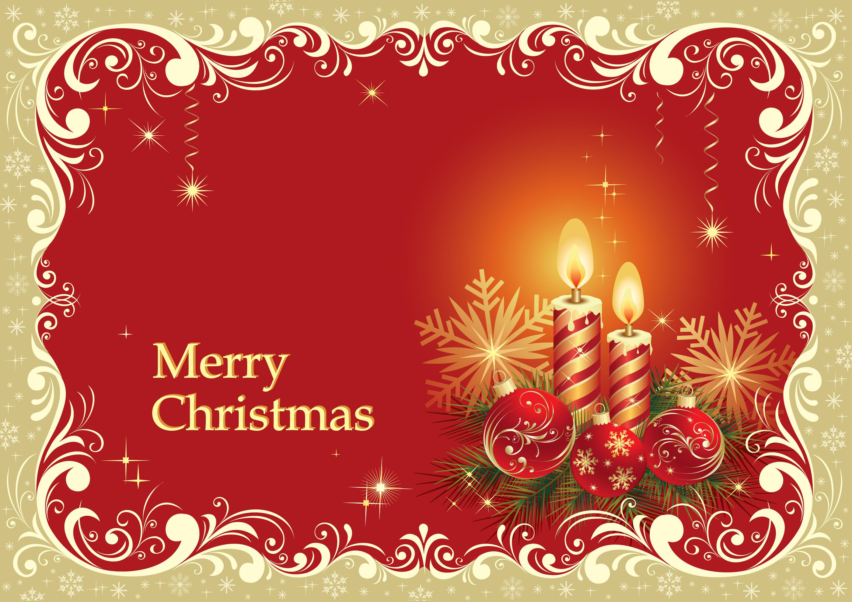 A Christmas card or greeting card is a great way to greet