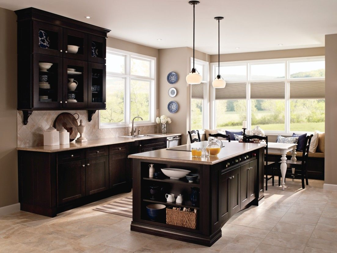 Best Kitchen Gallery: This Beautiful Kitchen Was Designed In The Kemper 'echo' Cabi of Kemper Kitchen Cabinets on cal-ite.com