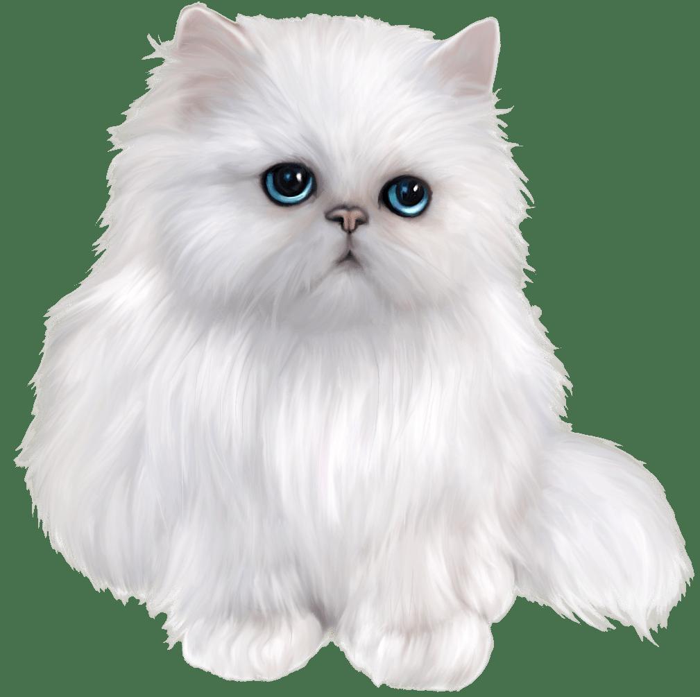 White Persian Cat Clipart Clipart Pinterest Cat