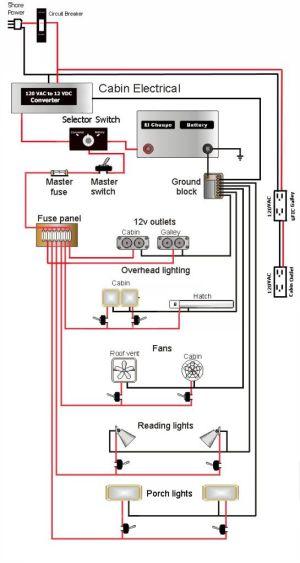 Teardrop camper wiring schematic | Lonely Teardrops | Pinterest | Teardrop trailer, Camping and Rv