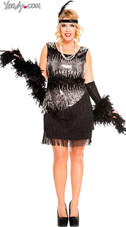 Best 25 Plus Size Flapper Costume Ideas On Pinterest