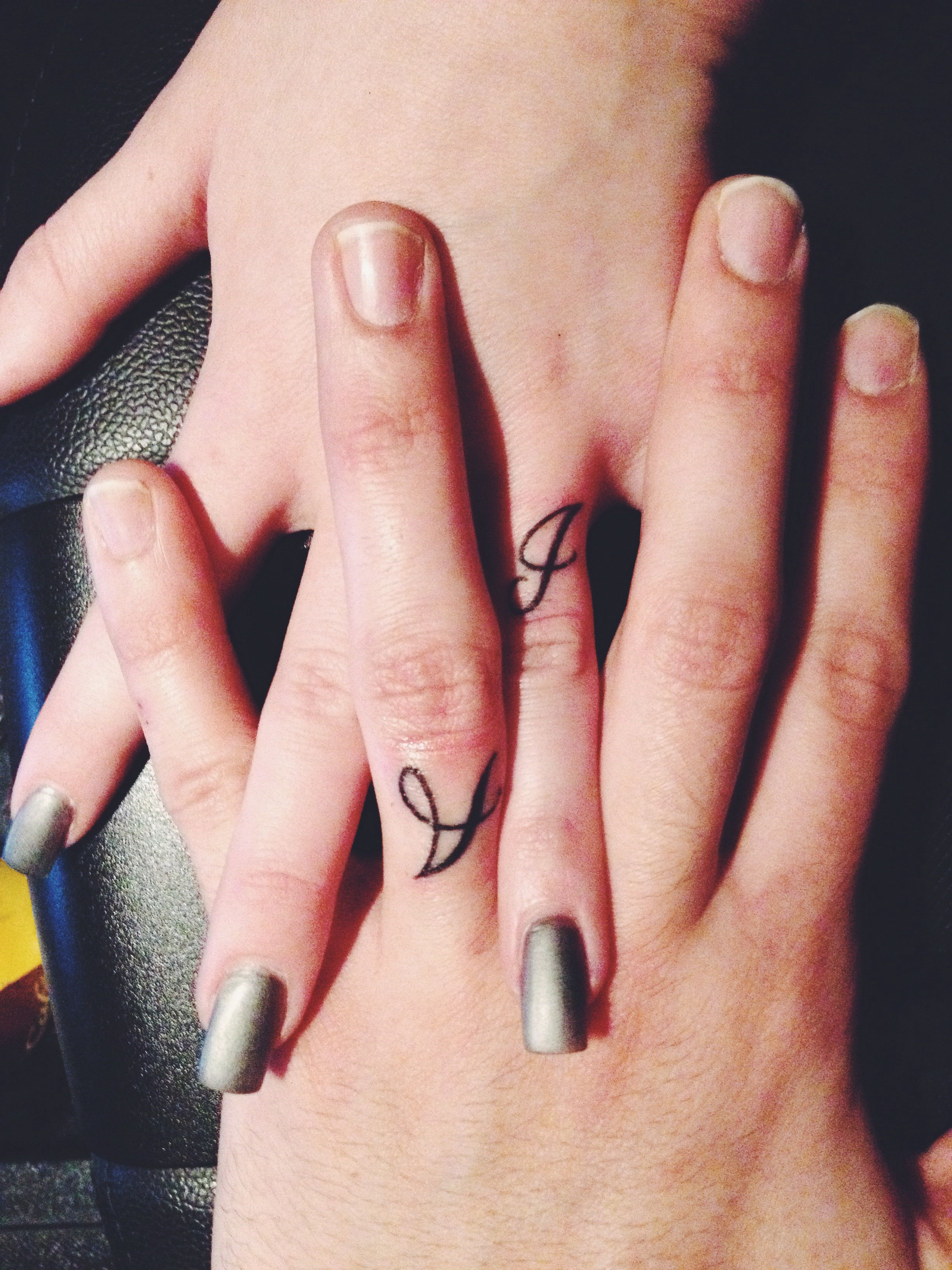 Marriage ring finger tattoos tattoos Pinterest