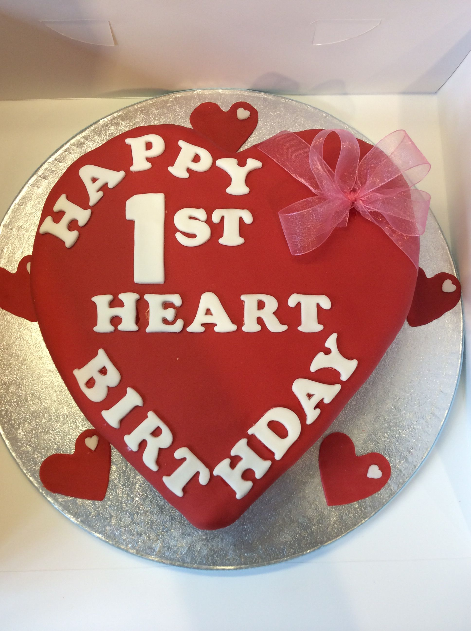 1st year anniversary / birthday for a Heart Transplant