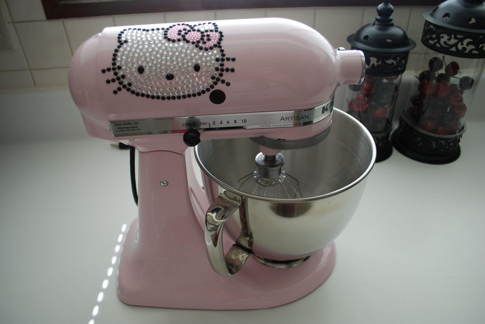 My Hello Kitty Kitchen Aid Hello Kitty Pinterest