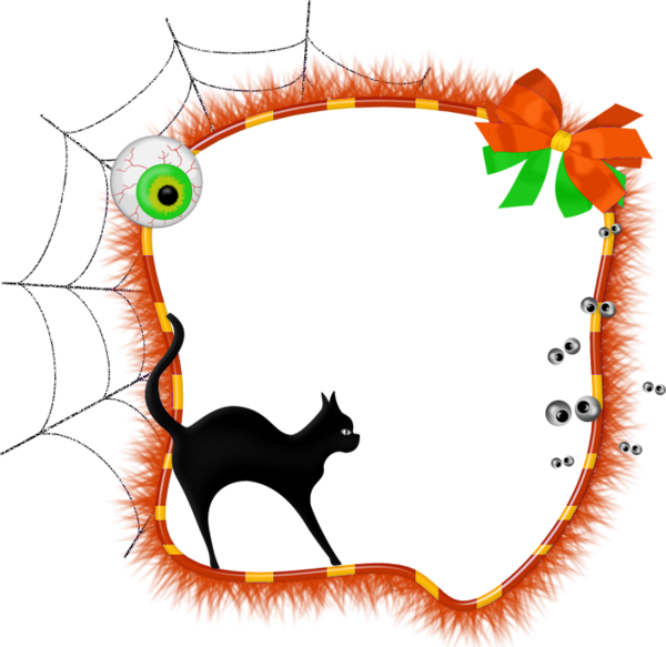 Free download Halloween Transparent Photo Frame with