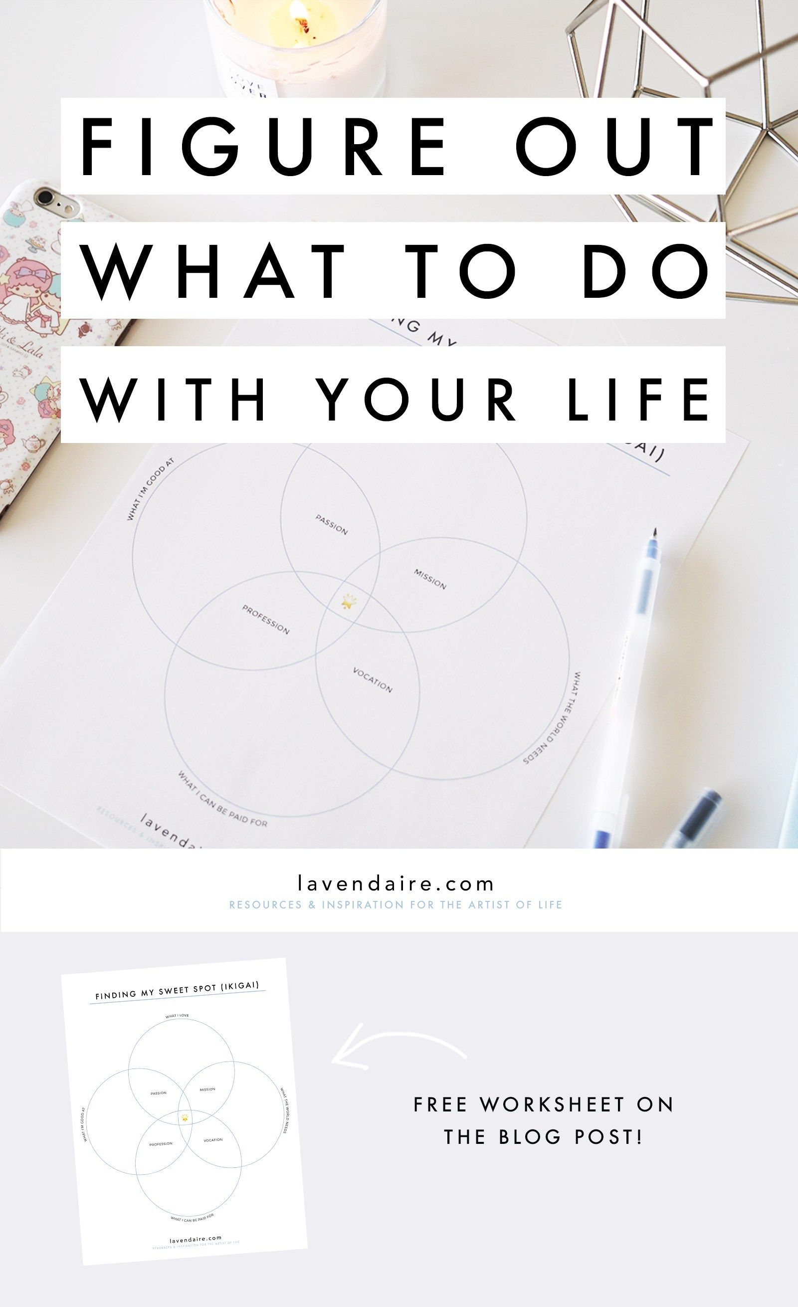 How To Figure Out What To Do With Your Life Ikigai Sweet Spot