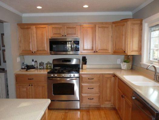 38 Inspiring Kitchen Paint Colors Ideas With Oak Cabinet Decink