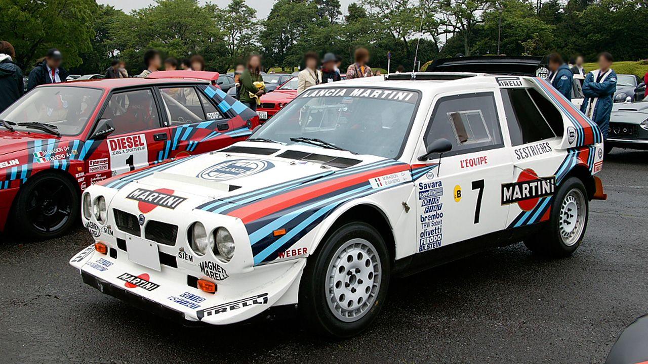 Lancia Delta S4 front WRC Lancia Pinterest