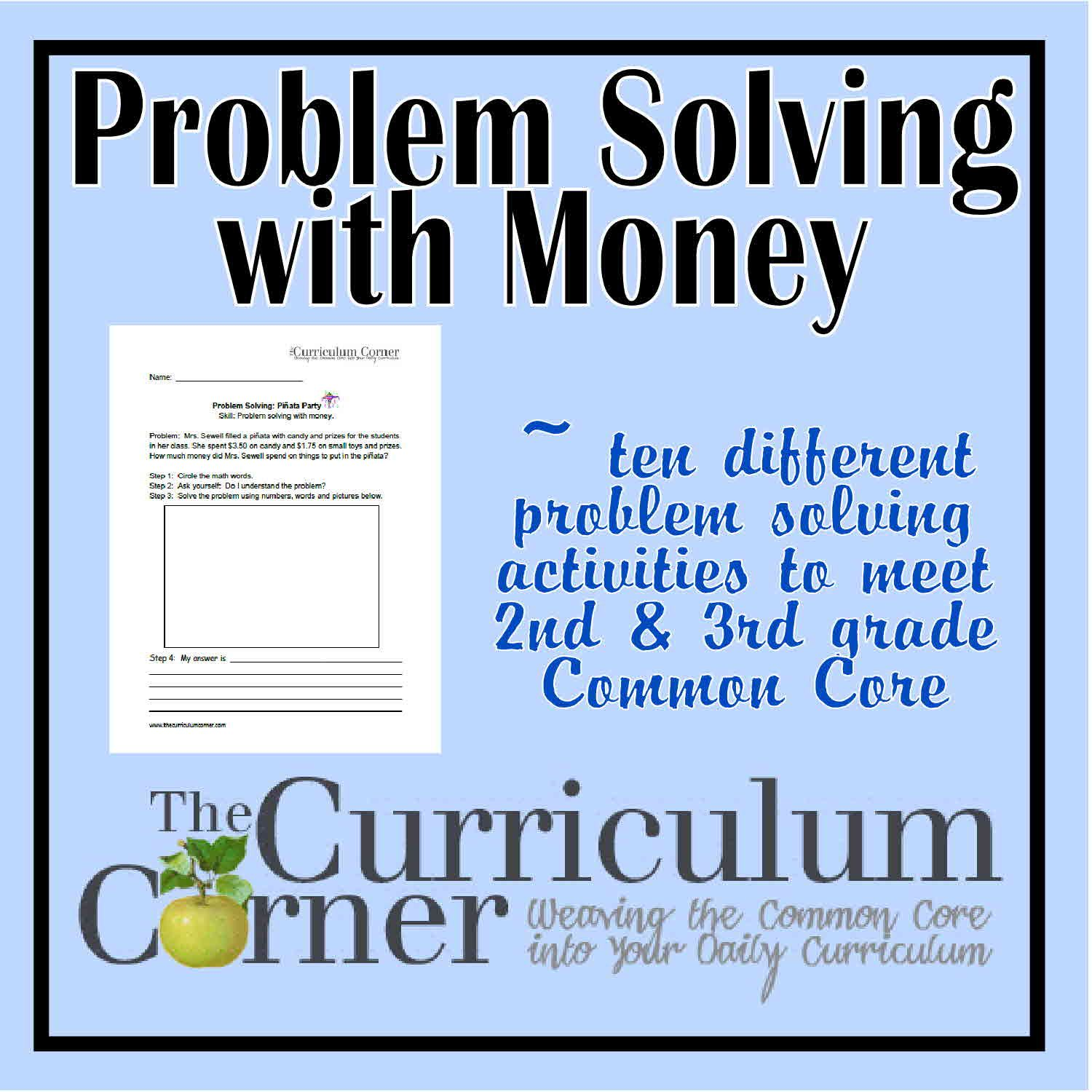 Money Problem Solving Questions Grade 3