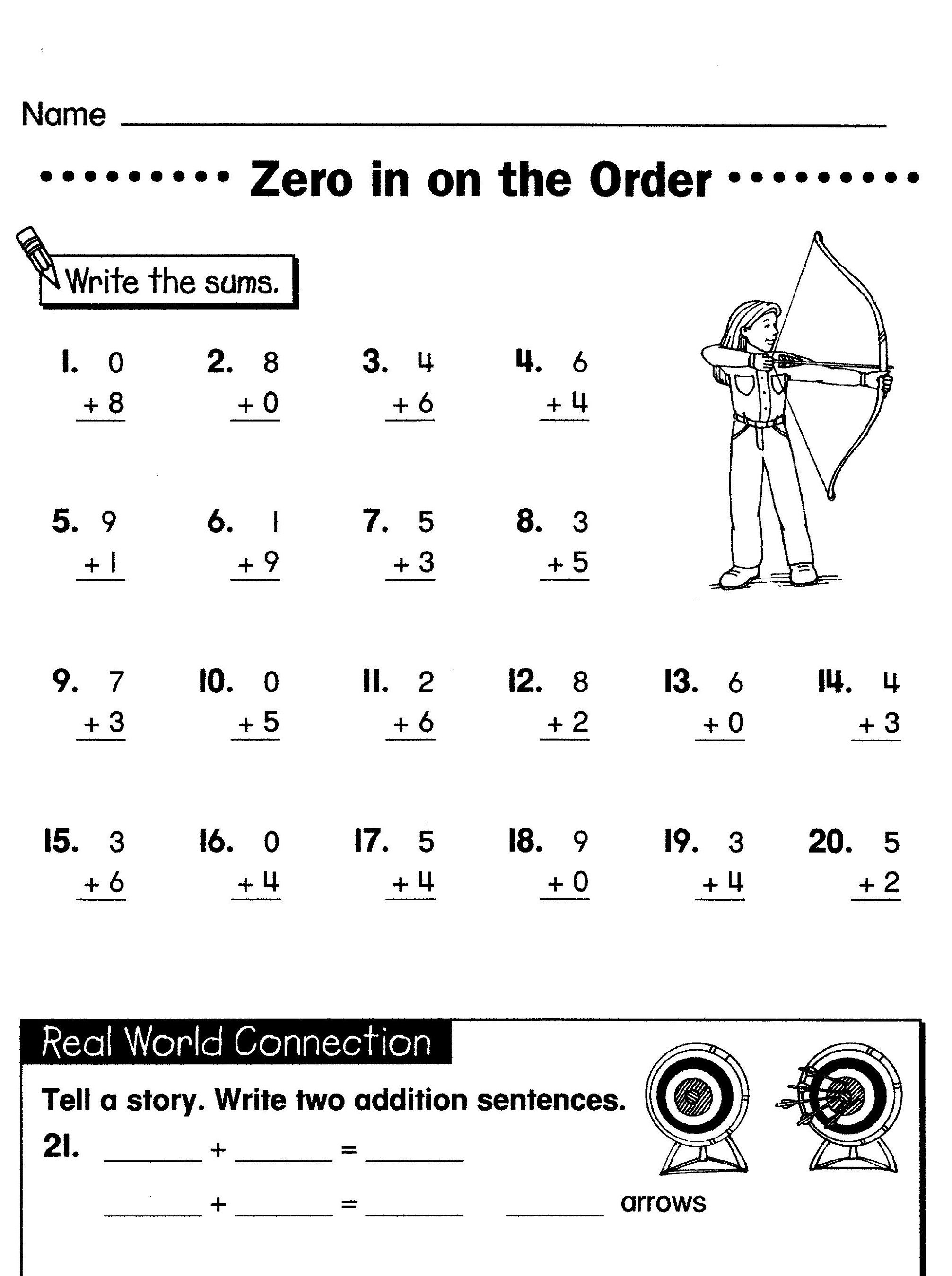 S School Worksheet