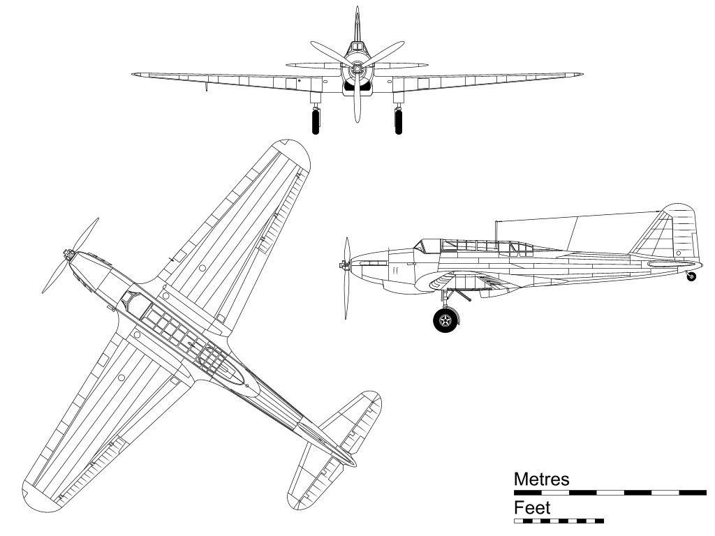 Fairey Battle Single Engine Lighter Built By Fairey