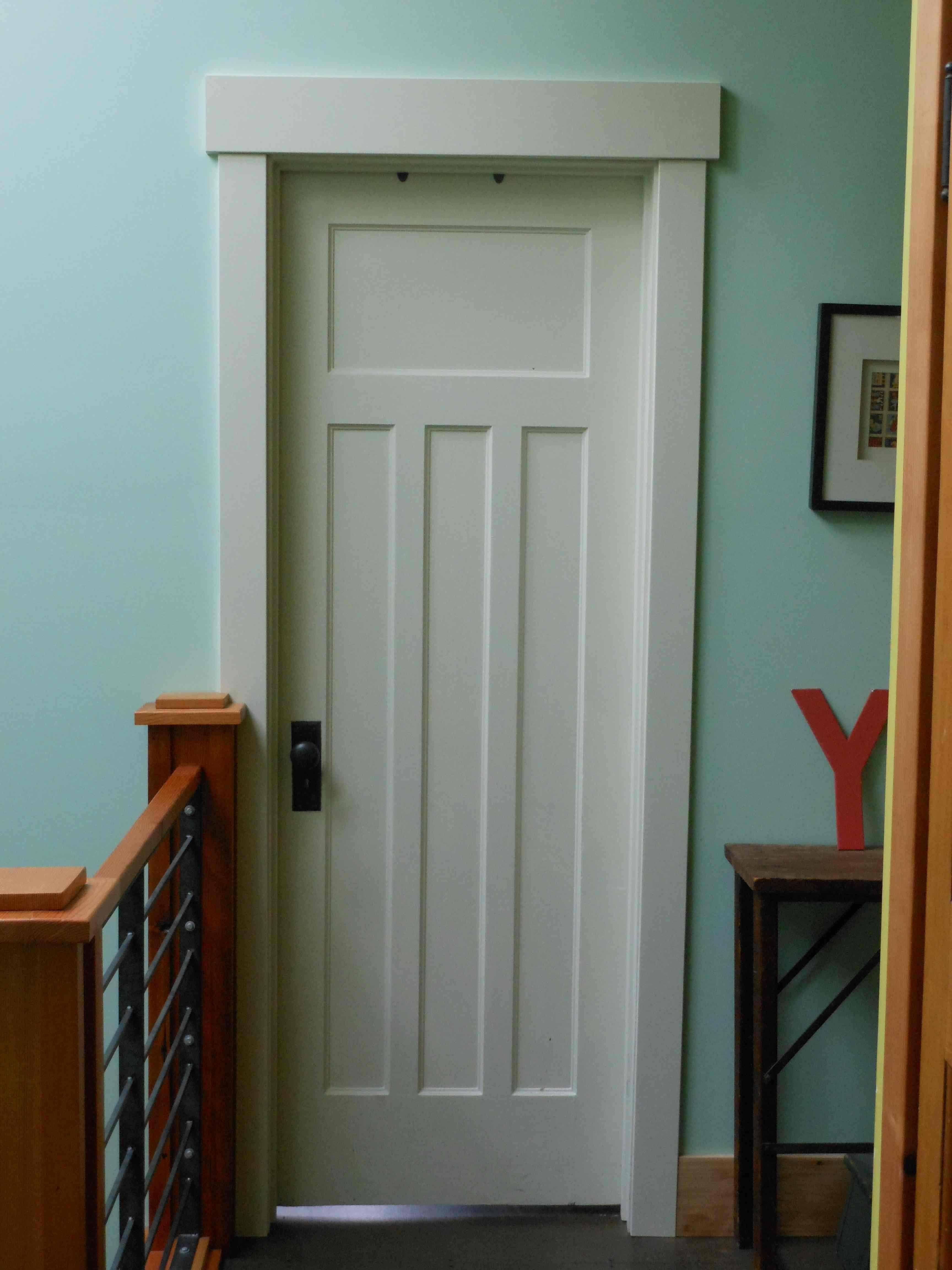 craftsman trim paneled door Hammer Like a Girl Home re