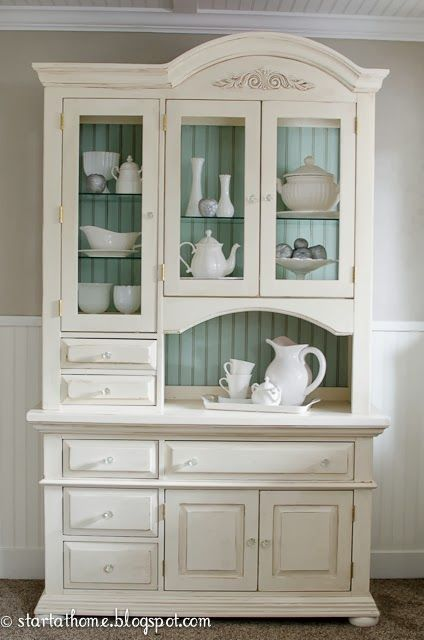 An Inexpensive Thrift Store Hutch With Good Bones Gets A