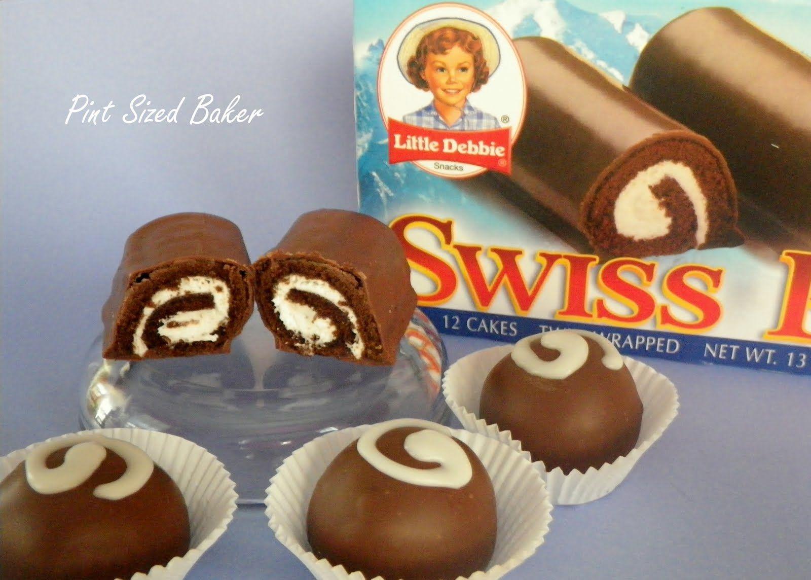 Little Debbie Swiss Rolls Cake Pops Truffles