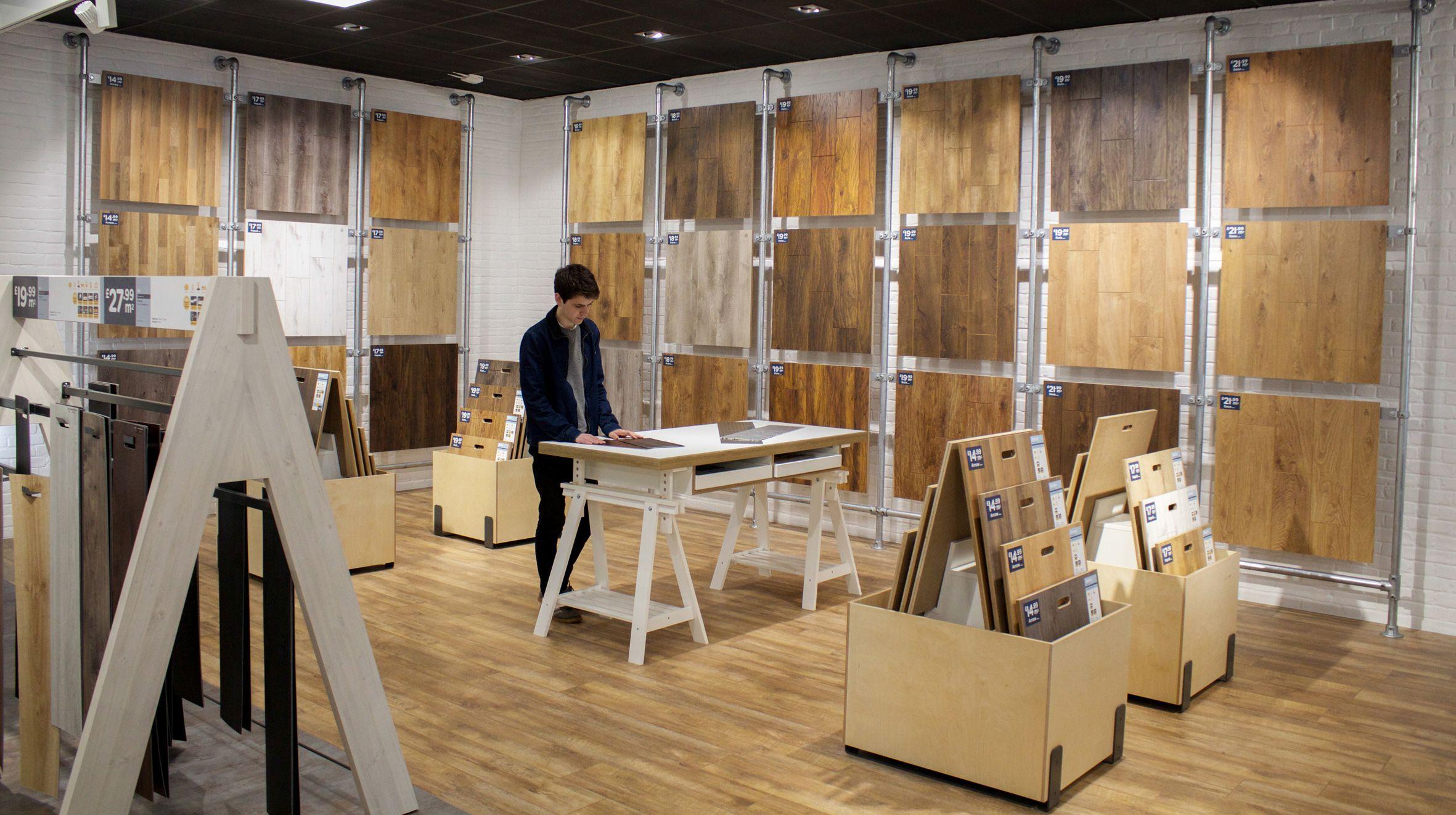 Tapi Carpets and Floors Laminate Display designs