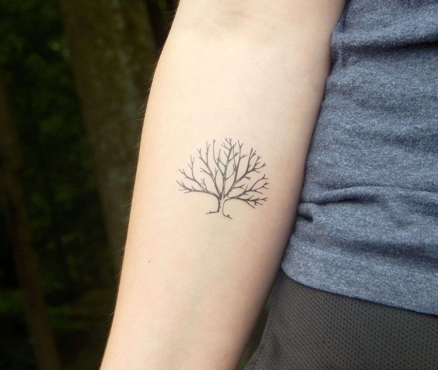 Temporary Tattoo Tree Tattoo Tree Branch Tattoo