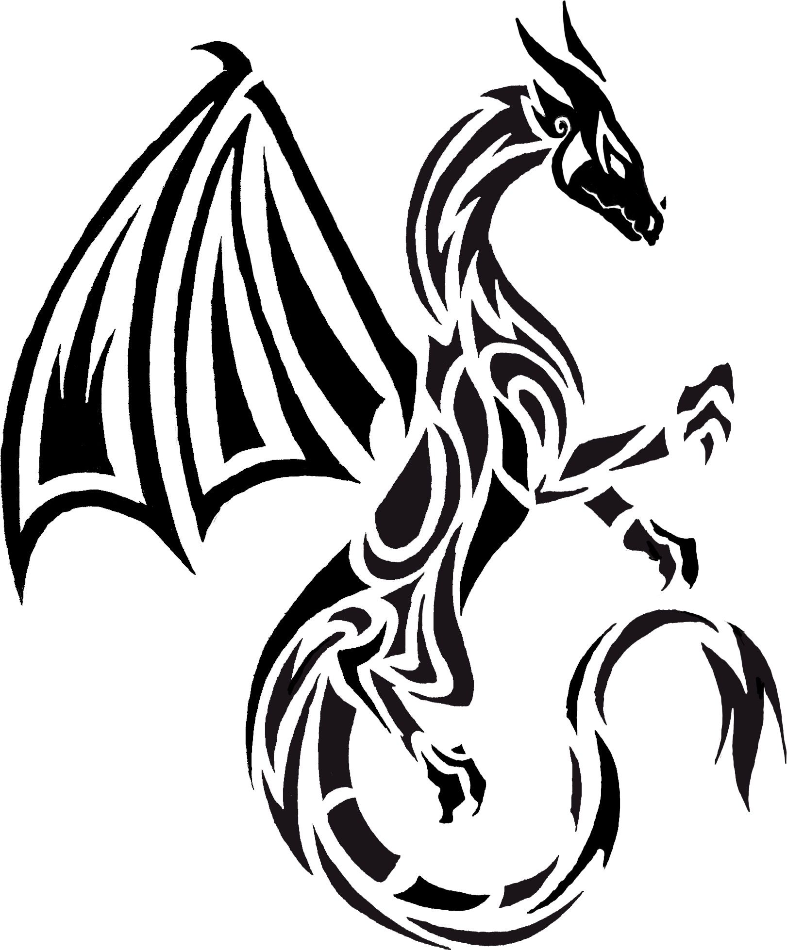 Another Dragon Tattoo Idea