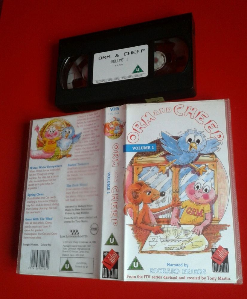 ORM AND CHEEP VOLUME 1 / ANIMATION VIDEO PAL RARE BRIERS