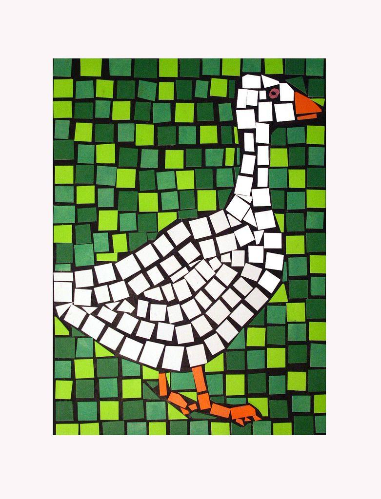 BIRD MOSAIC Mosaics, Bird and Craft