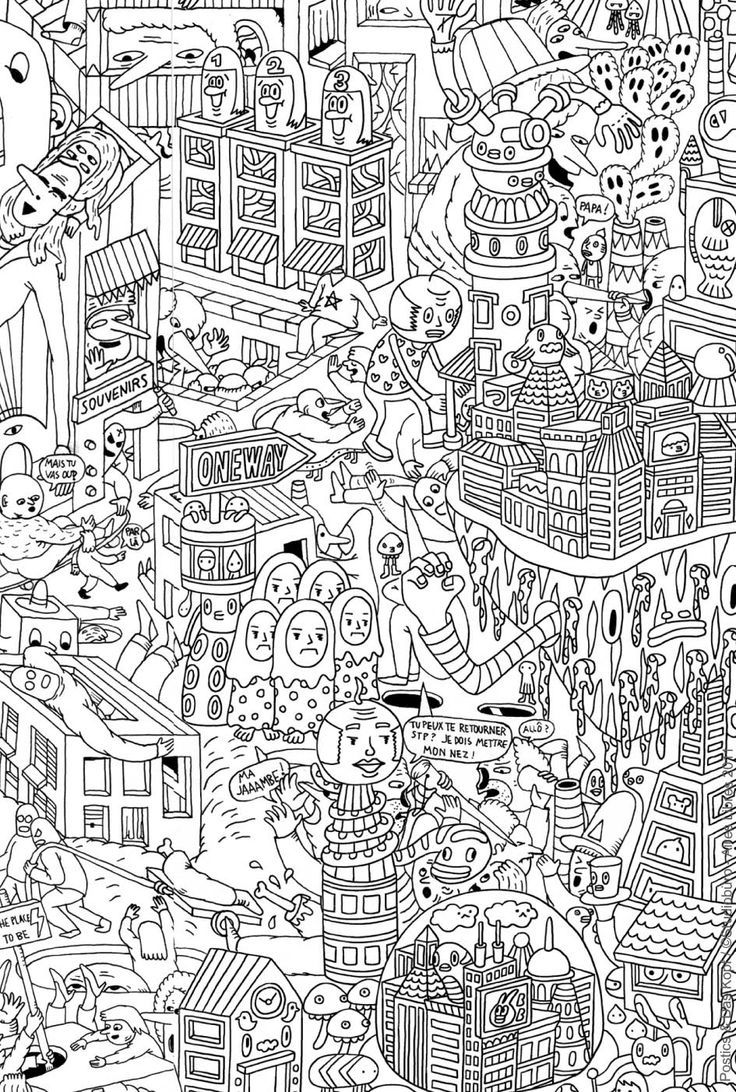 Pin By Ally On Illustrations Pinterest Coloring Books And Doodles