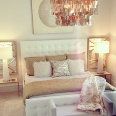 Oink Gold And White Bedroom Yahoo Image Search Results